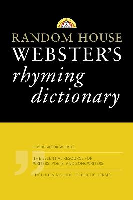 Random House Webster's Rhyming Dictionary book
