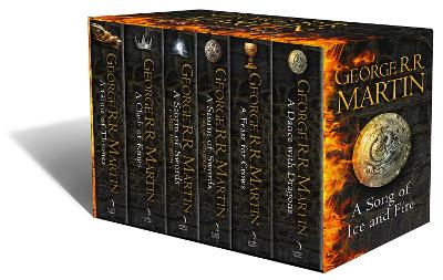 A Game of Thrones: The Story Continues [Export only]: The complete boxset of all 6 books (A Song of Ice and Fire) by George R. R. Martin