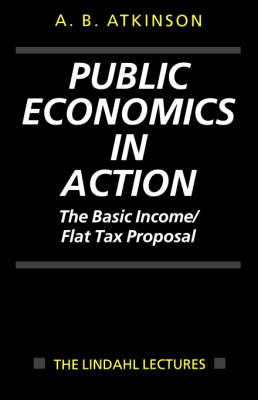 Public Economics in Action by Anthony Barnes Atkinson