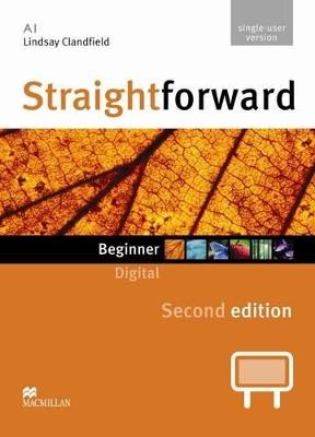 Straightforward 2nd Edition Beginner Digital DVD Rom Single User by Lindsay Clandfield
