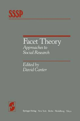 Facet Theory by David V. Canter