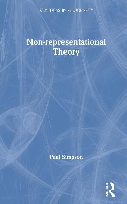 Non-representational Theory book