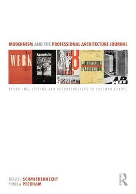 Modernism and the Professional Architecture Journal book