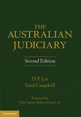 The Australian Judiciary by Enid Campbell