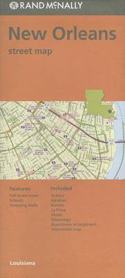 Folded Map New Orleans/Hammond/Ponchat La Streets by Rand McNally