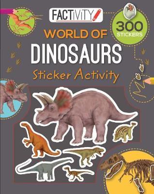 Factivity Balloon Sticker Activity Book - Dinosaurs book