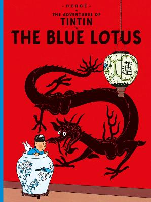 The Blue Lotus by Herge