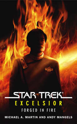 Star Trek: The Original Series: Excelsior: Forged in Fire by Michael A. Martin