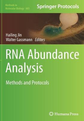 RNA Abundance Analysis by Hailing Jin