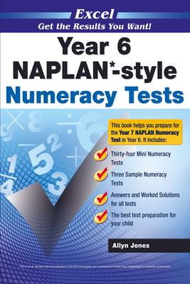 Naplan* Style Numeracy TST Yr 6 by