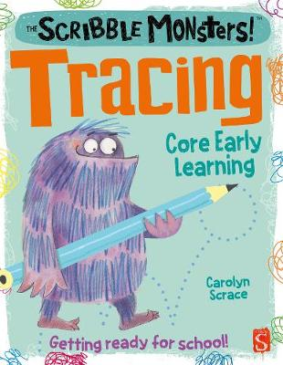 The Scribble Monsters!: Tracing book