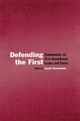 Defending the First book
