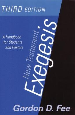 New Testament Exegesis, Third Edition book