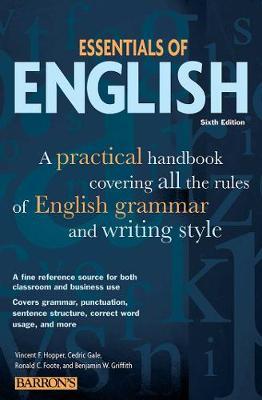 Essentials of English book