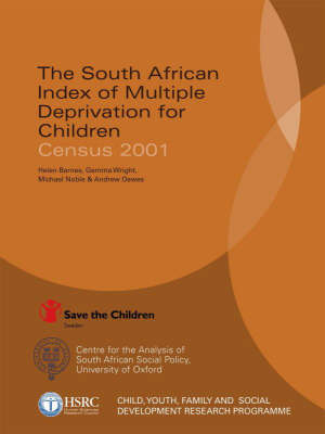 South African Index of Multiple Deprivation for Children book