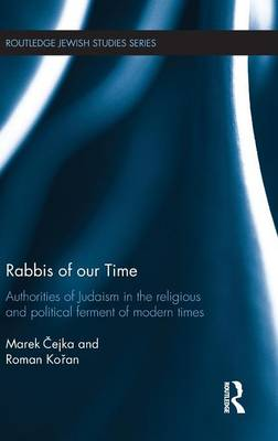 Rabbis of our Time by Marek Cejka