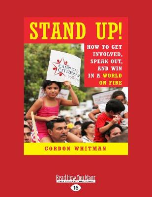 Stand Up! by Gordon Whitman