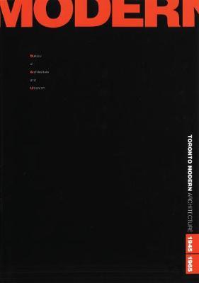 Toronto Modern book