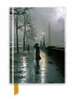 London by Lamplight (Foiled Journal) by Flame Tree Studio