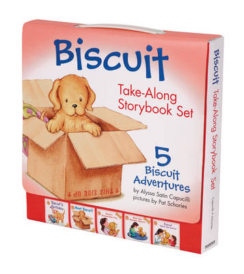Biscuit Take-Along Storybook Set by Alyssa Satin Capucilli