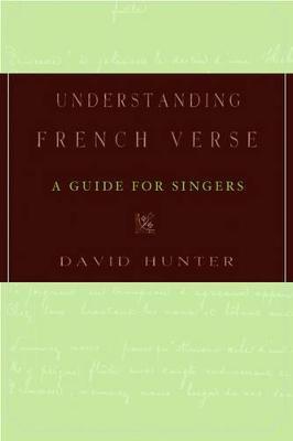 Understanding French Verse book