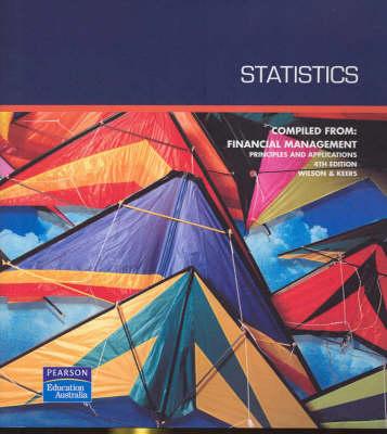 Statistics Custom Book by Lady Wilson
