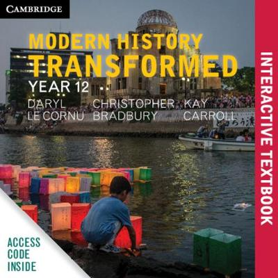 Cambridge Senior History: Modern History Transformed Year 12 Digital (Card) book