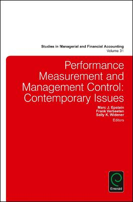 Performance Measurement and Management Control by Marc J. Epstein