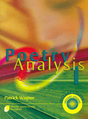Poetry Analysis  Bk. 1 by Patrick Wagner