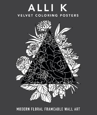 Modern Velvet Coloring Prints: A Box Set of Frameable Wall Art book
