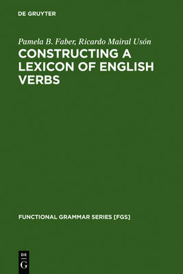 Constructing a Lexicon of English Verbs by Ricardo Mairal