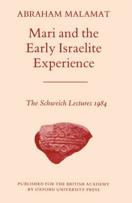 Mari and the Early Israelite Experience book