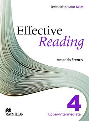 Effective Reading Upper Intermediate Student's Book by Amanda French