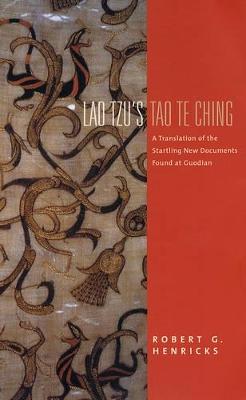 Lao Tzu's Tao Te Ching book