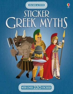 Sticker Greek Myths book