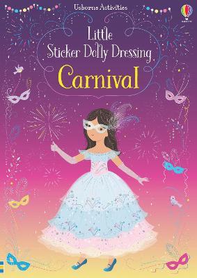 Little Sticker Dolly Dressing Carnival book