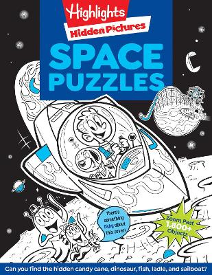 Space Puzzles book