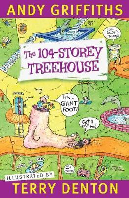 The 104-Storey Treehouse book