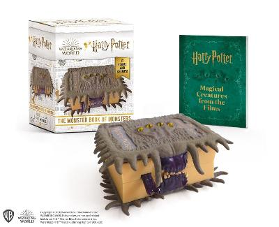 Harry Potter: The Monster Book of Monsters: It Roams and Chomps! book