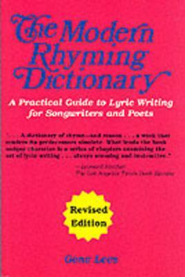 Modern Rhyming Dictionary by Gene Lees