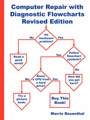 Computer Repair with Diagnostic Flowcharts Revised Edition by Morris Rosenthal