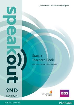Speakout Starter 2nd Edition Teacher's Guide with Resource & Assessment Disc Pack by Jane Comyns Carr