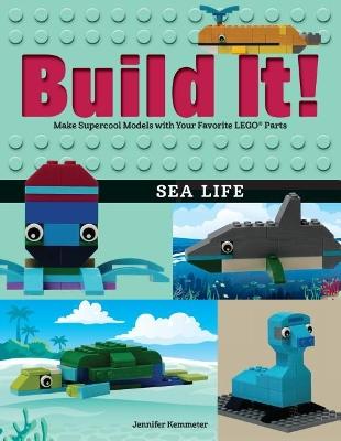 Build It! Sea Life book