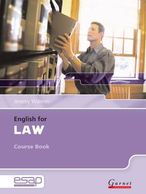 English for Law Course Book + Audio CDs book