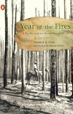 Year of the Fires: The Story of the Great Fires of 1910 by Stephen J. Pyne