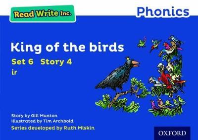 Read Write Inc. Phonics: Blue Set 6 Storybook 4 King of the Birds book