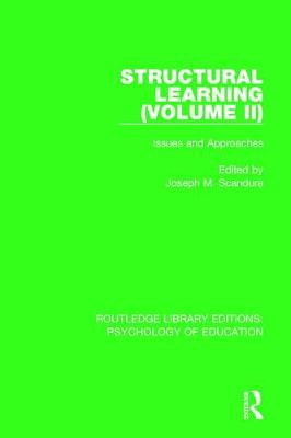 Structural Learning (Volume 2) by Joseph M. Scandura