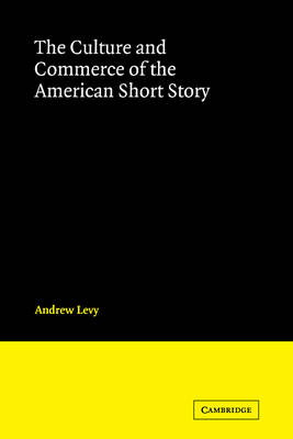 Culture and Commerce of the American Short Story book