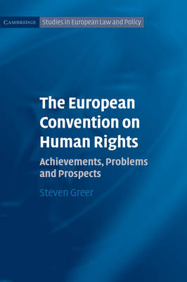 European Convention on Human Rights book