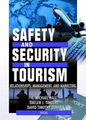 Safety and Security in Tourism book